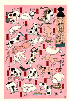 CATS OF THE TOKAIDO ROAD