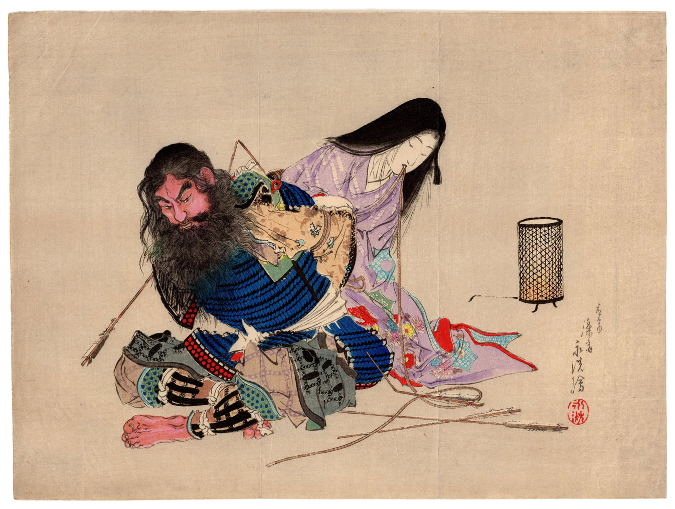 Bearded Samurai