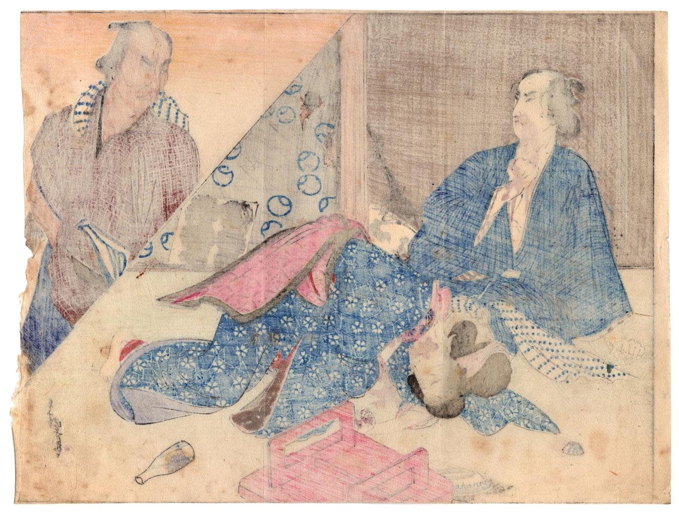 original Japanese woodblock prints and paintings